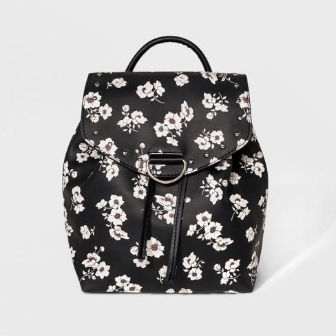 b11987d9dbff Printed Mini Backpack - Wild Fable™ Black   Target