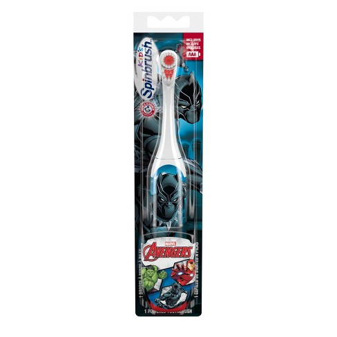 Spinbrush Marvel Black Panther Kids Toothbrush - 1ct - image 1 of 1