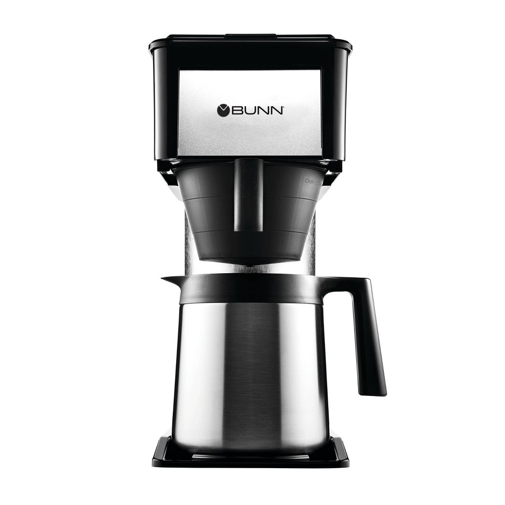 Image of BUNN BT Velocity Brew 10 Cup Thermal Coffee Brewer, Silver