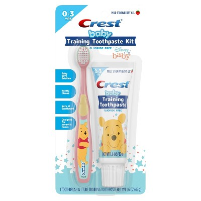 Crest Infant Kit Training Toothpaste & Toothbrush - 1.6oz