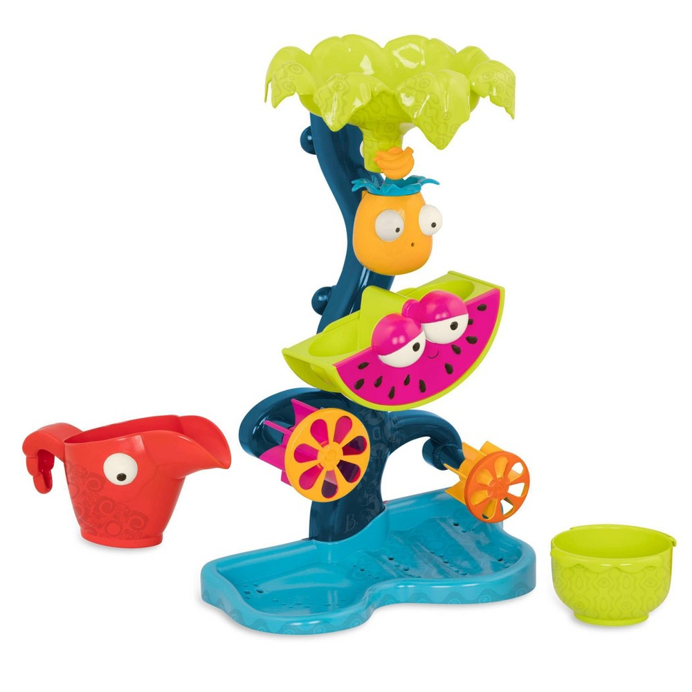 B Toys Water Wheel Toy Tropical Waterfall
