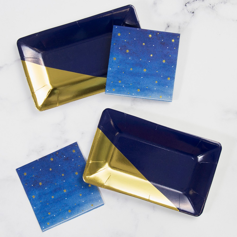 Best Online Stars Cocktail Party Kit Navy BlueGold