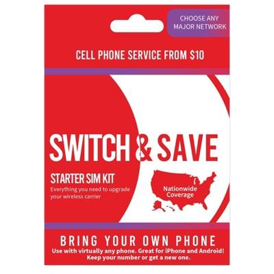 Red Pocket SIM Kit Starter Kit