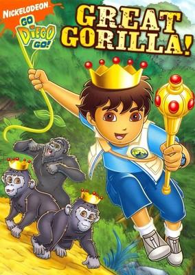 Go Diego Go!: Great Gorilla! (DVD)