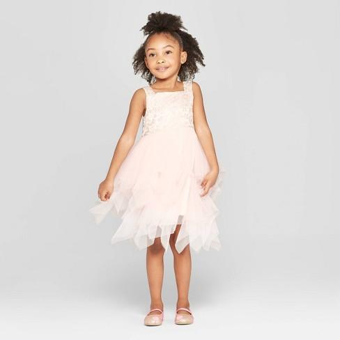 b3adb2140a Mia   Mimi Toddler Girls  Butterfly A-Line Dress - Light Pink   Target