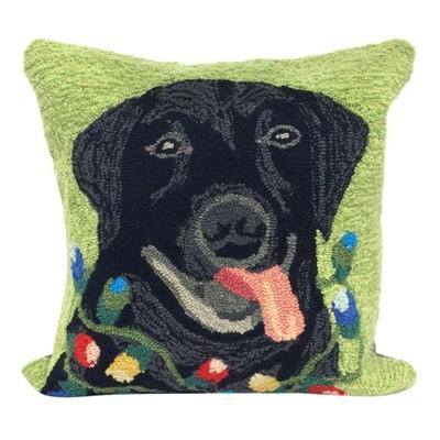 Green Throw Pillow - Liora Manne