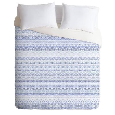 King Gabriela Fuente Margot Duvet Set Blue - Deny Designs