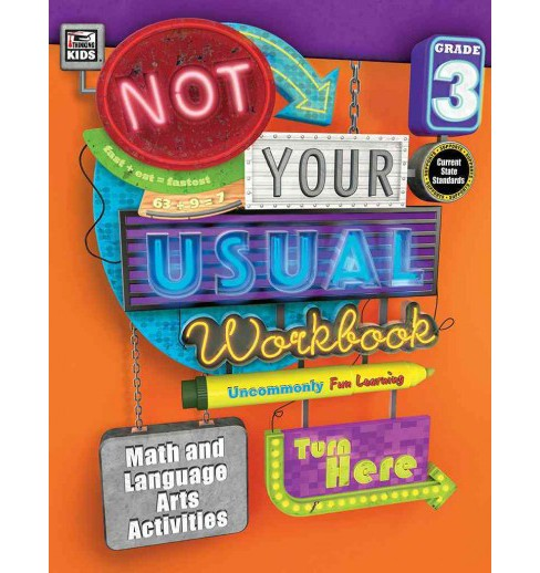 Not Your Usual Workbook Grade 3 (Paperback) - image 1 of 1