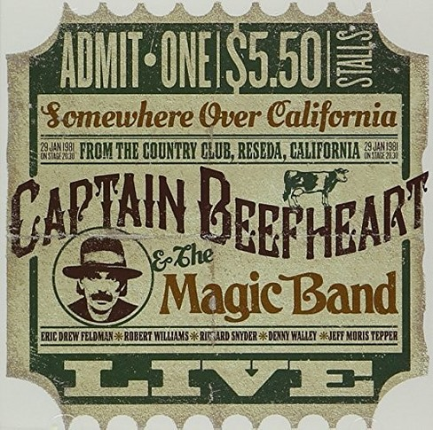 Captain beefheart - Live at the country club reseda calif (CD) - image 1 of 1
