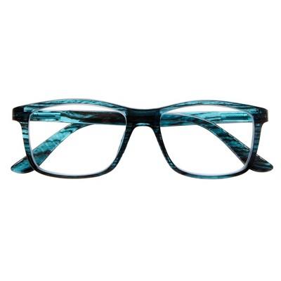 ICU Eyewear Novato – Large Rectangular Teal