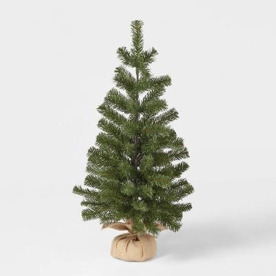 3ft Unlit Alberta Spruce Potted Artificial Christmas Tree - Wondershop™
