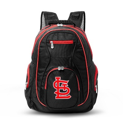 MLB St Louis Cardinals Colored Trim Laptop Backpack
