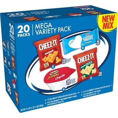 Kellogg's MVP Multipack Snack Box - 17.4oz/20ct
