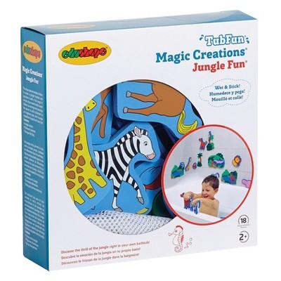 Edushape Magic Creations Bath Playset - Jungle Fun