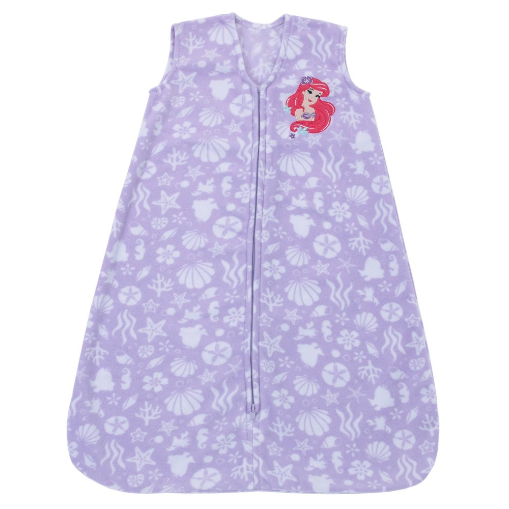 Image of Disney Ariel Super Soft Microfleece Wearable Blanket, Infant Unisex, Size: Medium, Purple