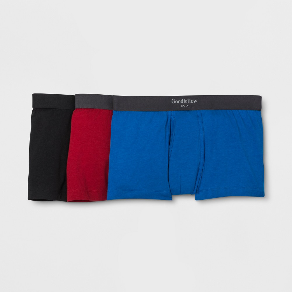 Men's Premium Knit Trunk 3pk - Goodfellow & Co M, MultiColored was $18.99 now $9.99 (47.0% off)
