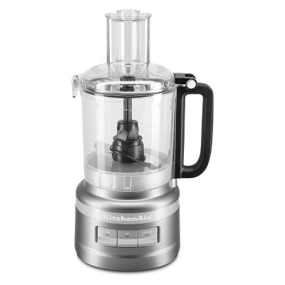KitchenAid 9 Cup Food Processor Contour Silver - KFP0918CU
