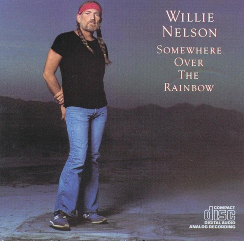 Willie nelson - Over the rainbow (CD) - image 1 of 1
