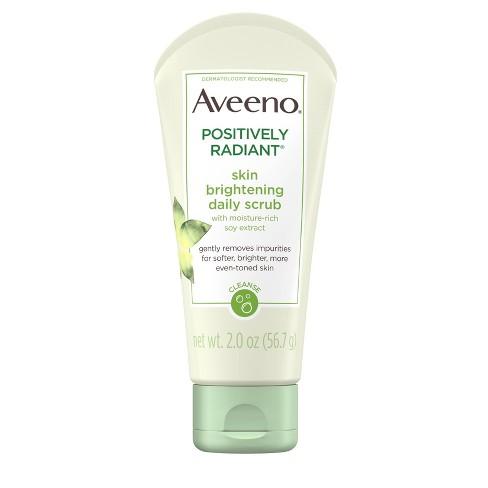 Aveeno Positively Radiant Skin Brightening Exfoliating Face Scrub - 2oz - image 1 of 4
