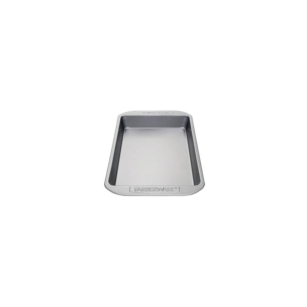 Farberware Nonstick Rectangular Cake Pan - 9x13, Gray