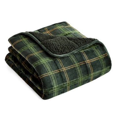 """48"""" x 72"""" Printed Velvet to Sherpa 15lbs Weighted Throw Blanket - Rejuve"""