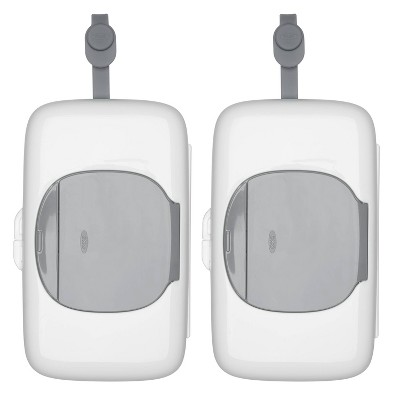 OXO Tot On-The-Go Wipes Dispenser - Gray - 2pk