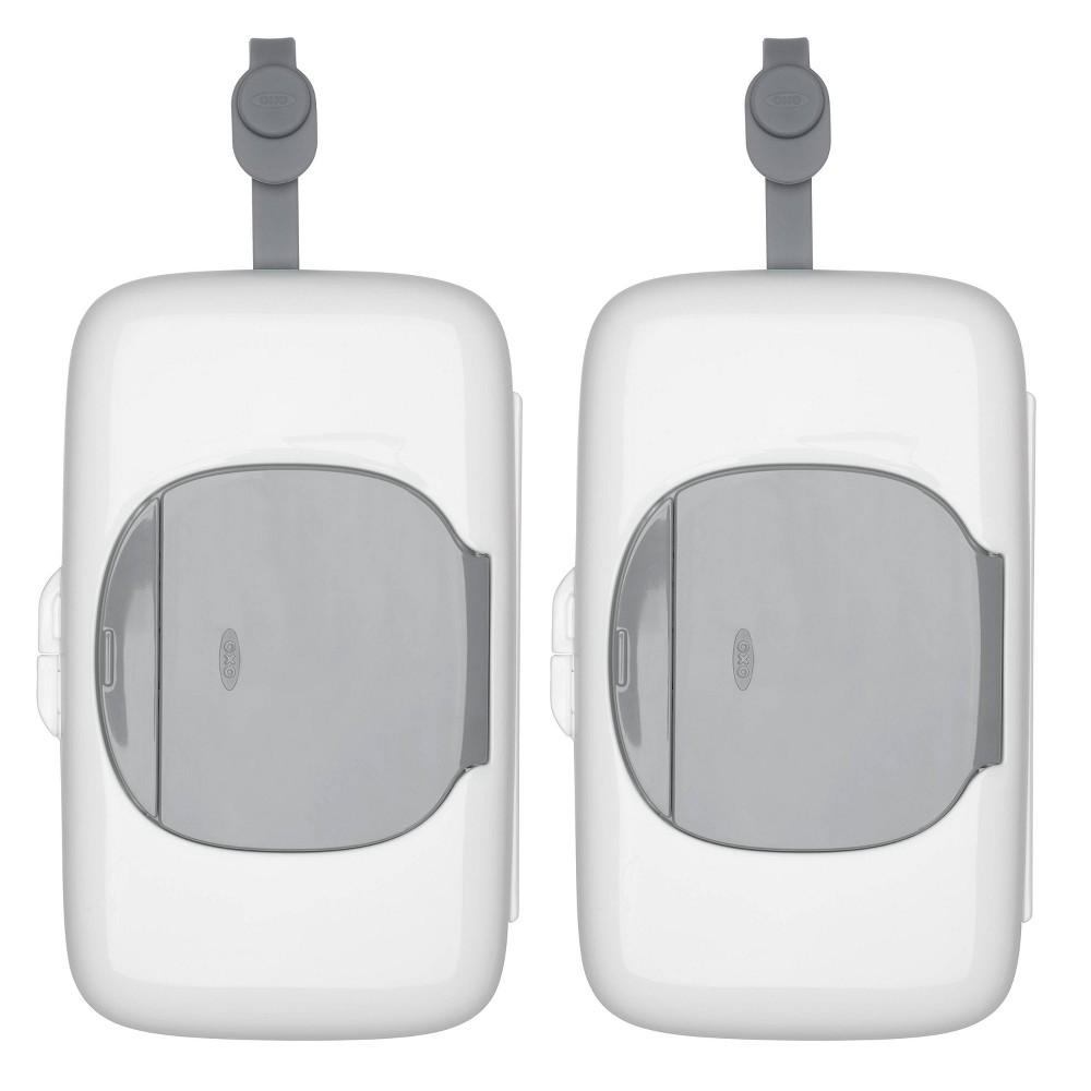Image of OXO Tot On-The-Go Wipes Dispenser - Gray - 2pk