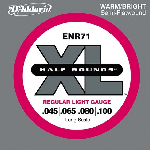 D'Addario ENR71 Half Rounds Light Bass Strings - image 1 of 1