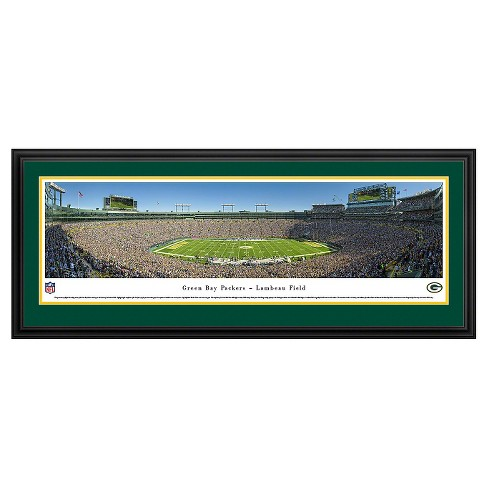 NFL Blakeway Stadium 50 Yard Line View Deluxe Framed Wall Art - image 1 of 1
