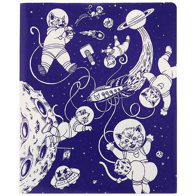 Space Kittens 2 Pocket Plastic Folder   Decomposition Book by Decomposition Book