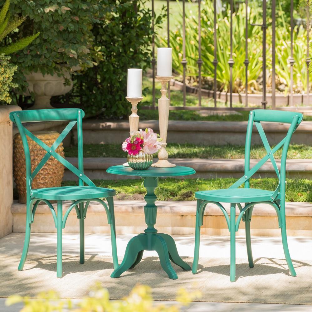 Danish 3pc Nylon Chat Set - Magnolia Green - Christopher Knight Home