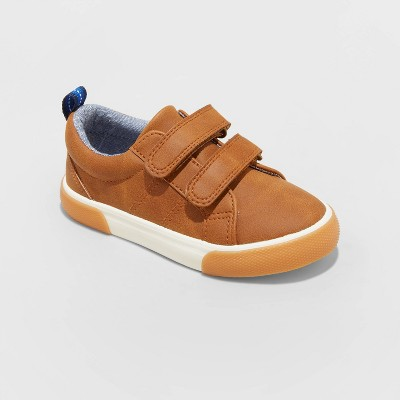 Toddler Boys' Flint Double Strap Apparel Sneakers - Cat & Jack™ Cognac