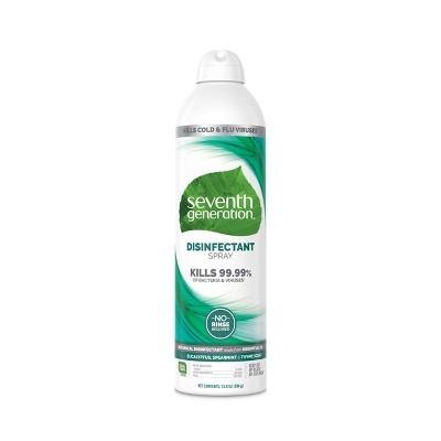 Seventh Generation Disinfectant Spray Eucalyptus & Spearmint - 13.9oz