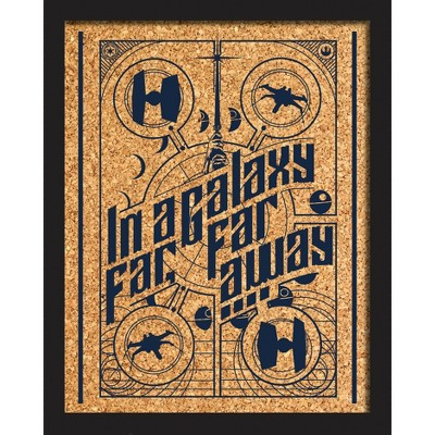 Star Wars Galaxy Far Far Away Cork Wall Art - RoomMates