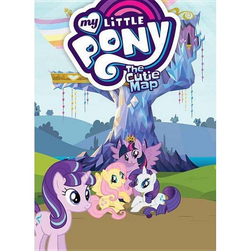 My Little Pony: The Cutie Map - by  Scott Sonneborn & M a Larson (Paperback) - image 1 of 1
