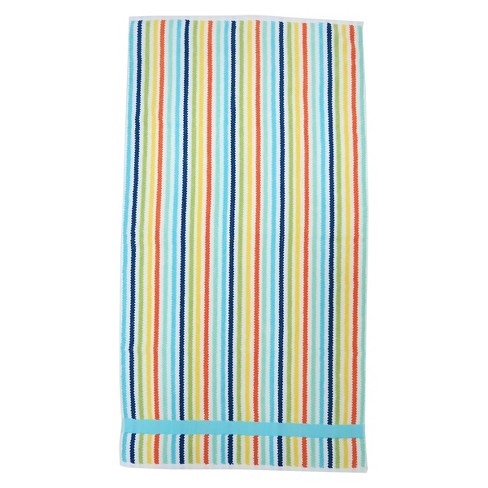 Striped Towel Molokai Blue - Pillowfort™ - image 1 of 2