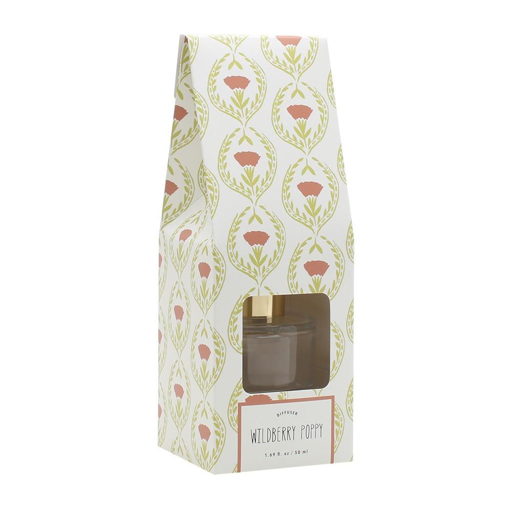 Image of 1.7oz Oil Diffuser Wildberry Poppy - Opalhouse, Peach & Green