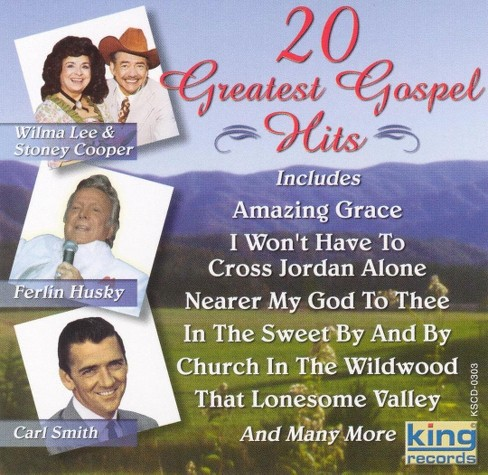 Gospel country - 20 great gospel hits (CD) - image 1 of 1