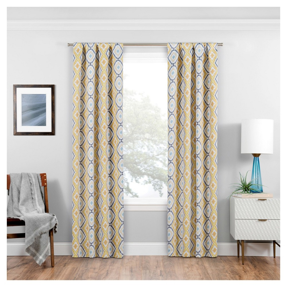 Morrow Thermaweave Blackout Curtain Panel Gold (37