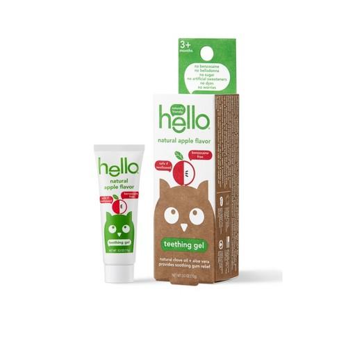 hello Natural Apple Flavor Teething Gel - 0.53oz - image 1 of 4