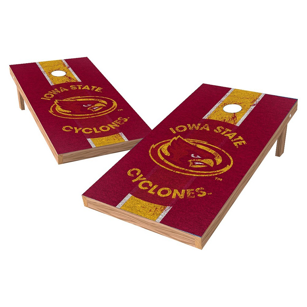 Iowa State Cyclones Wild Sports 2' x 4' Heritage Design Authentic Cornhole Set