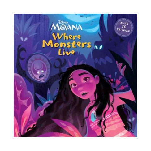 Where Monsters Live (Disney Moana) - (Pictureback(r)) (Paperback) - image 1 of 1