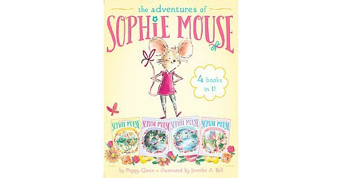 The Adventures of Sophie Mouse -4 Books in 1 ( The Adventures of Sophie Mouse) (Combined) (Hardcover) - image 1 of 1
