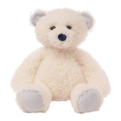 The Manhattan Toy Company Curly Q's - Stuffed Animal Polar Bear