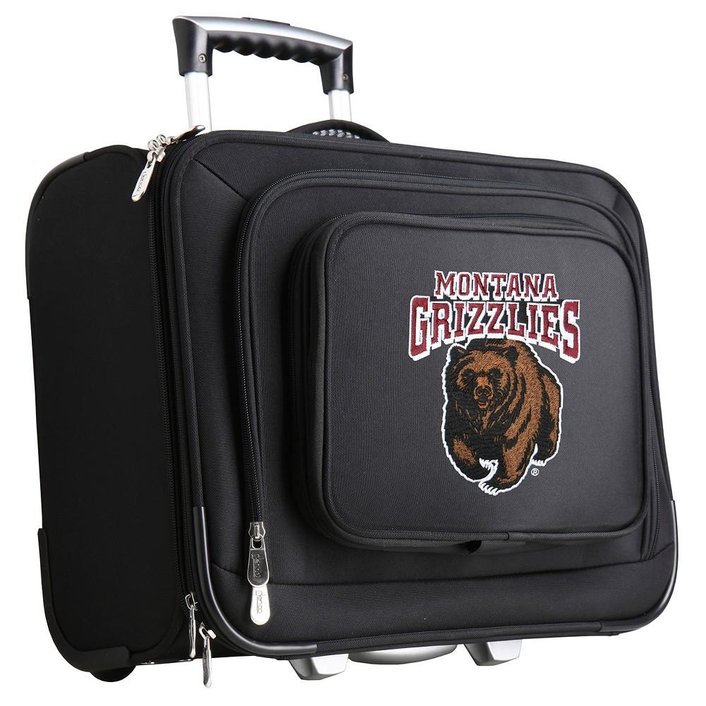 NCAA Montana Grizzlies Mojo Wheeled Laptop Suitcase