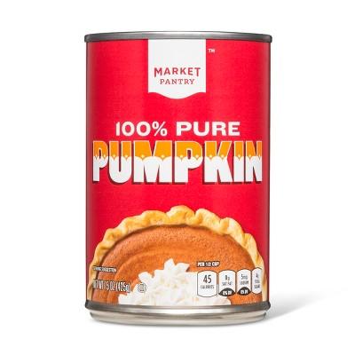 100% Pure Pumpkin - 15oz - Market Pantry™
