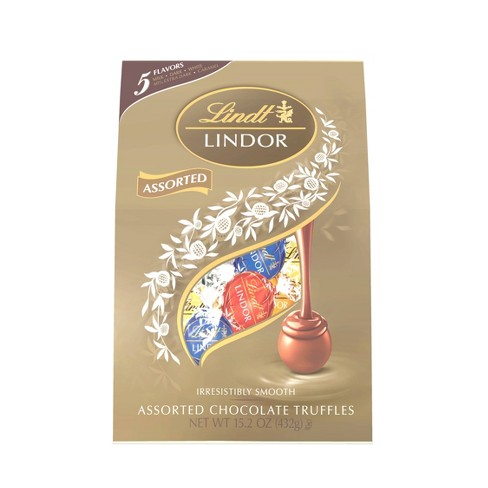 Lindt Lindor Assorted Chocolate Truffles - 15.2oz - image 1 of 4