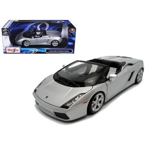 Lamborghini Gallardo Spyder Silver 1 18 Diecast Model Car By Maisto