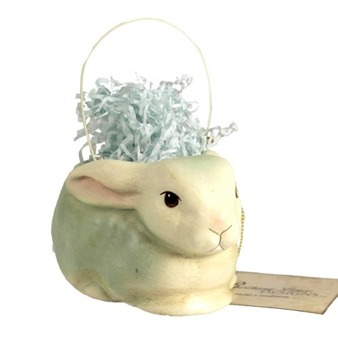 """Easter 2.75"""" Confetti Resting Bunny Grass Easter  -  Decorative Figurines - image 1 of 3"""