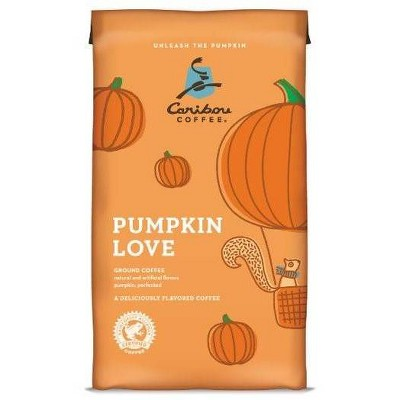 Caribou Coffee Pumpkin Love Medium Roast Ground Coffee - 11oz